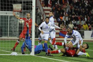 Impian promosi Gibraltar dihancurkan Armenia