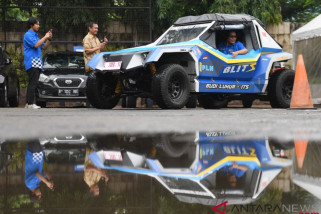 Mobil listrik buatan Universitas Budi Luhur dan ITS disiapkan terjun ke Rally Dakar