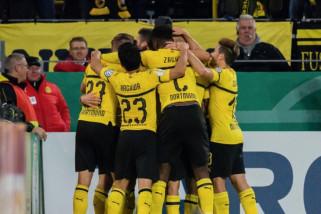 Bungkam Union Berlin, Dortmund melanju ke putaran tiga Piala Jerman