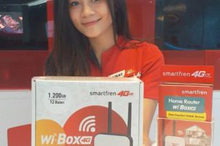Incar segmen internet rumah, Smartfren hadirkan Wi-Box 4G