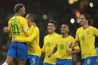 Brazil taklukkan Uruguay 1-0