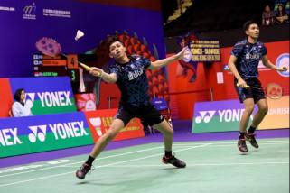 Fajar/Rian tumbang dari Jepang di semifinal Hong Kong Terbuka