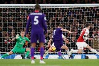 Arsenal diimbangi Liverpool 1-1