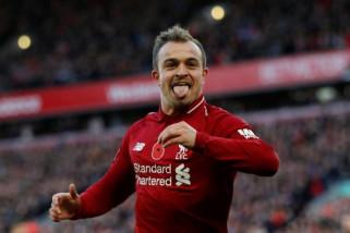 Bungkam  Fulham, Liverpool naik ke puncak klasemen