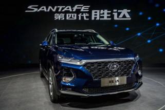 Hyundai pamerkan SUV Santa Fe dengan akses sidik jari
