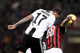 Juventus  pecundangi Milan di Giuseppe Meazza