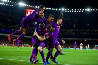 Hasil laga dan klasemen Liga Inggris, Liverpool ke puncak klasemen