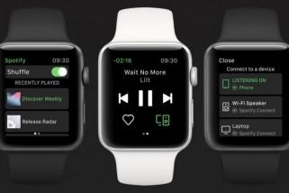Spotify resmi hadir di Apple Watch