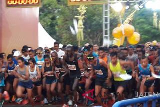 Pelari Kenya borong medali emas Borobudur Marathon 2018