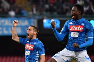 Mertens cetak hattrick saat Napoli hancurkan Empoli