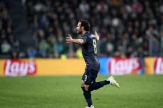 Manchester United curi tiga poin dari kandang  Juventus