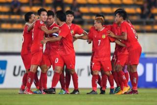 Timnas Myanmar dan Vietnam belum terkalahkan di Piala AFF