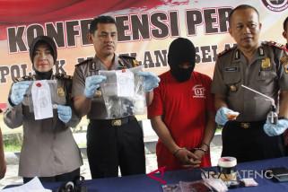 Simpan narkoba di tempat kos, EP ditahan polisi