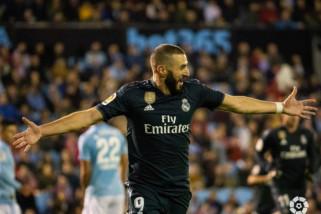 Kalahkan Celta Vigo 4-2, Real Madrid lanjutkan tren positif