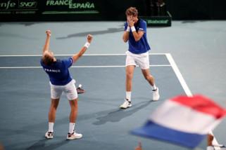Prancis dan Kroasia umumkan tim untuk final Piala Davis