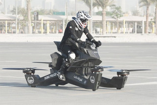 Sepeda motor terbang Hoverbike dijual Rp2,2 miliar