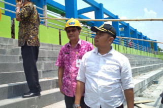 Atap Stadion Kudus roboh karena faktor alam