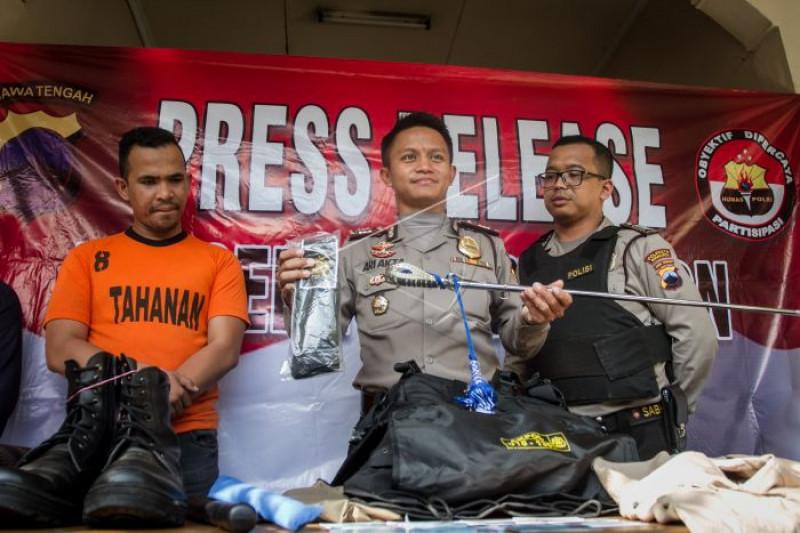 Kasus penipuan rekrutmen anggota Polri