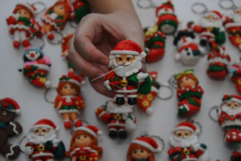Gantungan kunci tema Natal