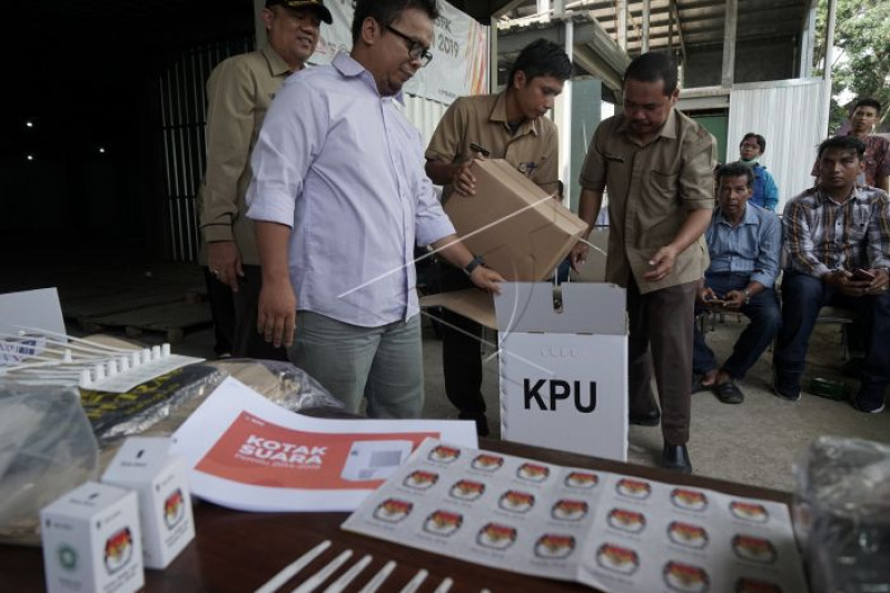 Sosialisasi logistik pemilu