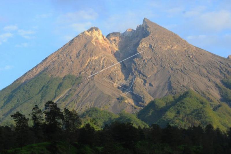 Gardu pandang gunung Merapi