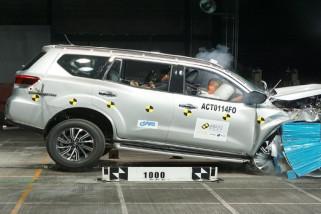 Nissan Terra raih bintang lima dalam uji tabrak