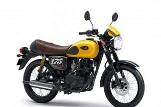 Kawasaki W175, ini penampilan barunya