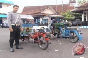 Yogyakarta tidak rekomendasikan becak motor sebagai angkutan