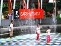 Air menari Taman Pintar Yogyakarta diserbu pengunjung