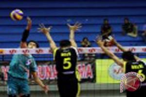 Samator juarai babak empat besar Proliga 2014