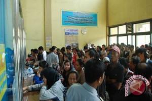 Pembelian tiket arus balik Gunung Kidul sepi