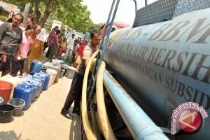 BPBD belum terima permohonan pasokan air bersih