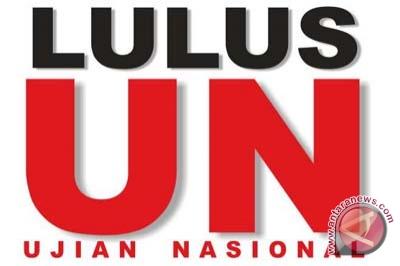 Nilai rerata kelulusan SMA/MA Yogyakarta tertinggi