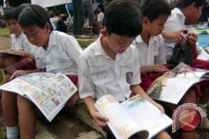 Batu Hijau Bootcamp dorong minat baca anak