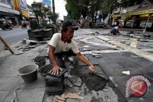 Penataan pedestrian Malioboro sisi barat dimulai Maret