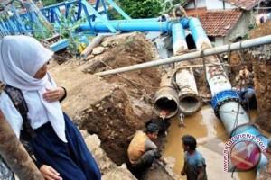 PDAM Gunung Kidul pasang instalasi pipa