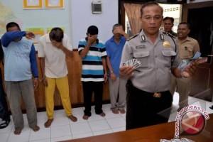 Polres Kulon Progo amankan 30 tersangka judi