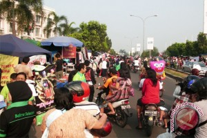Lebaran 2017 - Pedagang diminta tidak berjualan di luar pasar