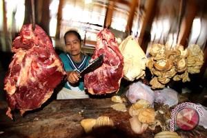 Harga daging sapi masih tinggi