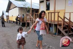 Korban Merapi tinggalkan huntap kembali ke KRB