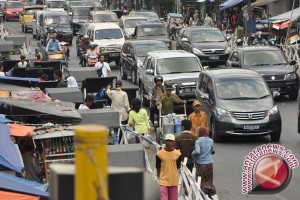 Sejumlah jalur alternatif di Bantul dipadati kendaraan