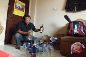 Korban tewas minuman keras oplosan 21 orang