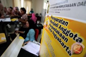 Kunjungan ke Perpustakaan Yogyakarta  turun 50 persen