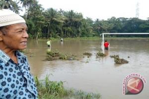 Puluhan kolam ikan Kulon Progo terendam banjir