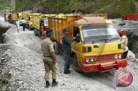 Dishubkominfo: banyak truk pasir lewat jalur larangan