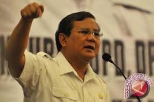 Gerindra siap mengusung Prabowo sebagai capres