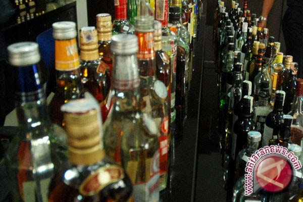Perda minuman beralkohol belum timbulkan efek jera