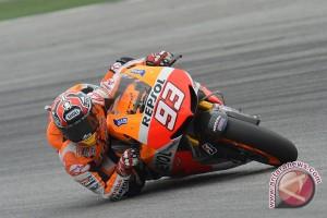 Marquez gagal pertahankan posisi terdepan di GP Amerika