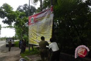 Petugas gabungan Gunung Kidul tertibkan ribuan APK