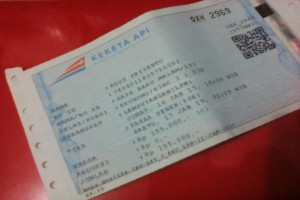 Harga tiket Bengawan dan Sri Tanjung naik